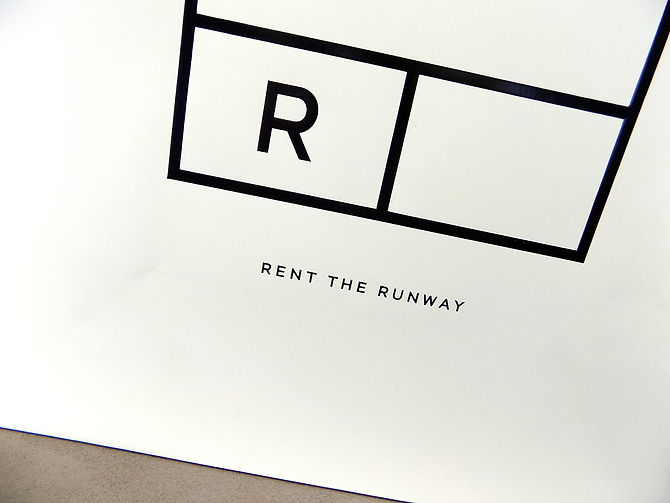 Rent the Runway Custom Shopping Bag by Commonwealth Packaging Co.
