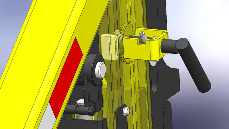 Introducing for Late 2020-2021 the Patent Pending Block-Lock™  Autolocking Gunrack Reel Trailer!