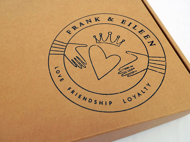 Custom Shipping Boxes E-Commerce Packaging for Frank & Eileen by Commonwealth Packaging Co.