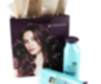 Pureology custom shopping bag by Commonwealth Packaging Co.