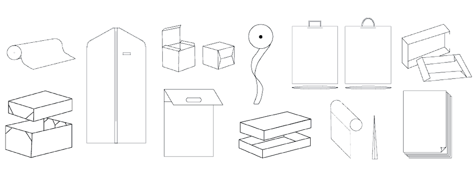 Custom Packaging Terms, Boxes, Shopping Bags by Commonwealth Packaging Co.