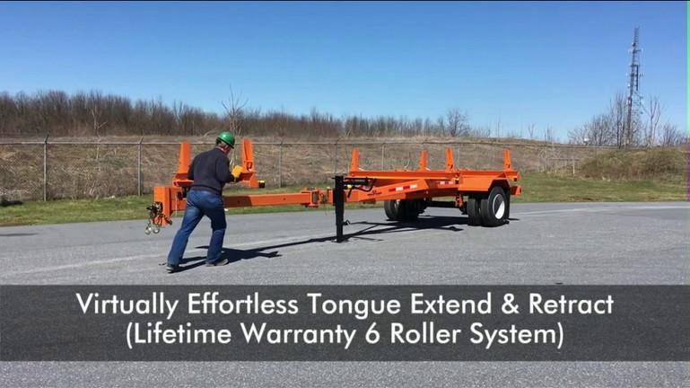 VIDEO: LIFETIME WARRANTY MEGA-ROLLER (US PATENT # D894,048S Add-On Utility Patent Pending)