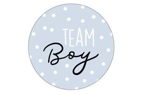 Sticker Team Boy Blau 250 Stück