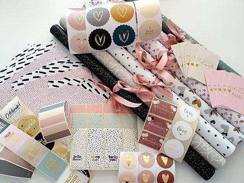 Geschenkpapier Sets
