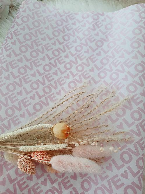 Seidenpapier Love Rosa 50x70cm