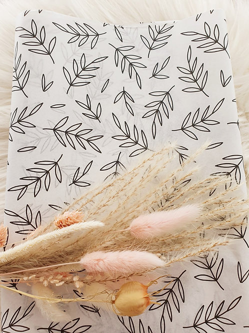 Seidenpapier mit Zweigen