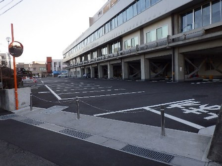 伊那合同庁舎駐車場等改修工事