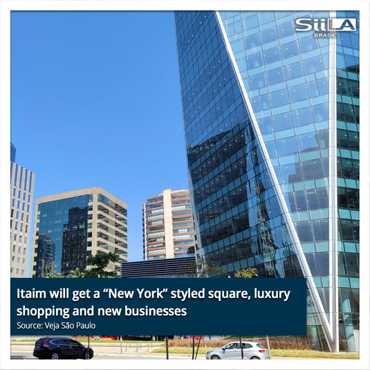 """Itaim will get a """"New York"""" styled square, luxury shopping and new businesses..jpg"""