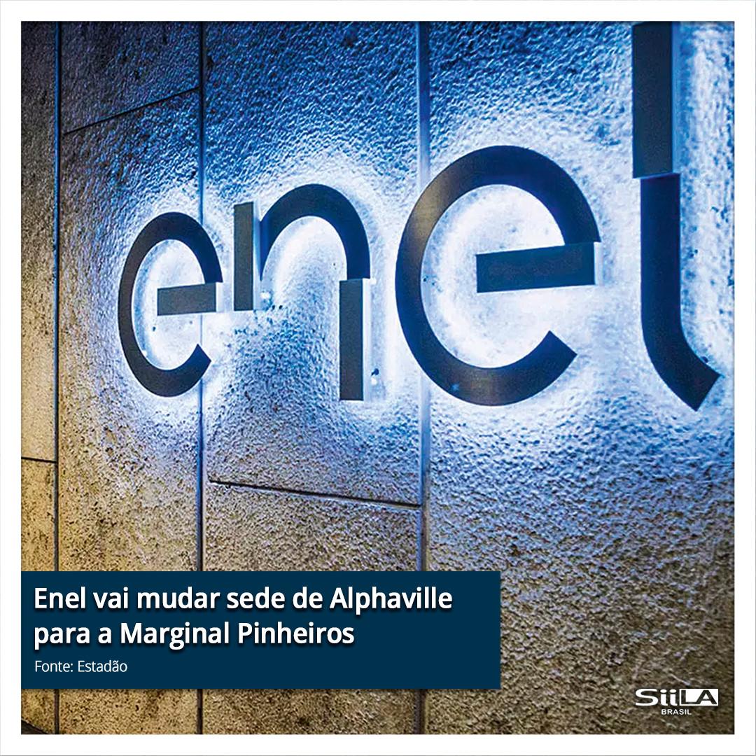 Enel vai mudar sede de Alphaville para a