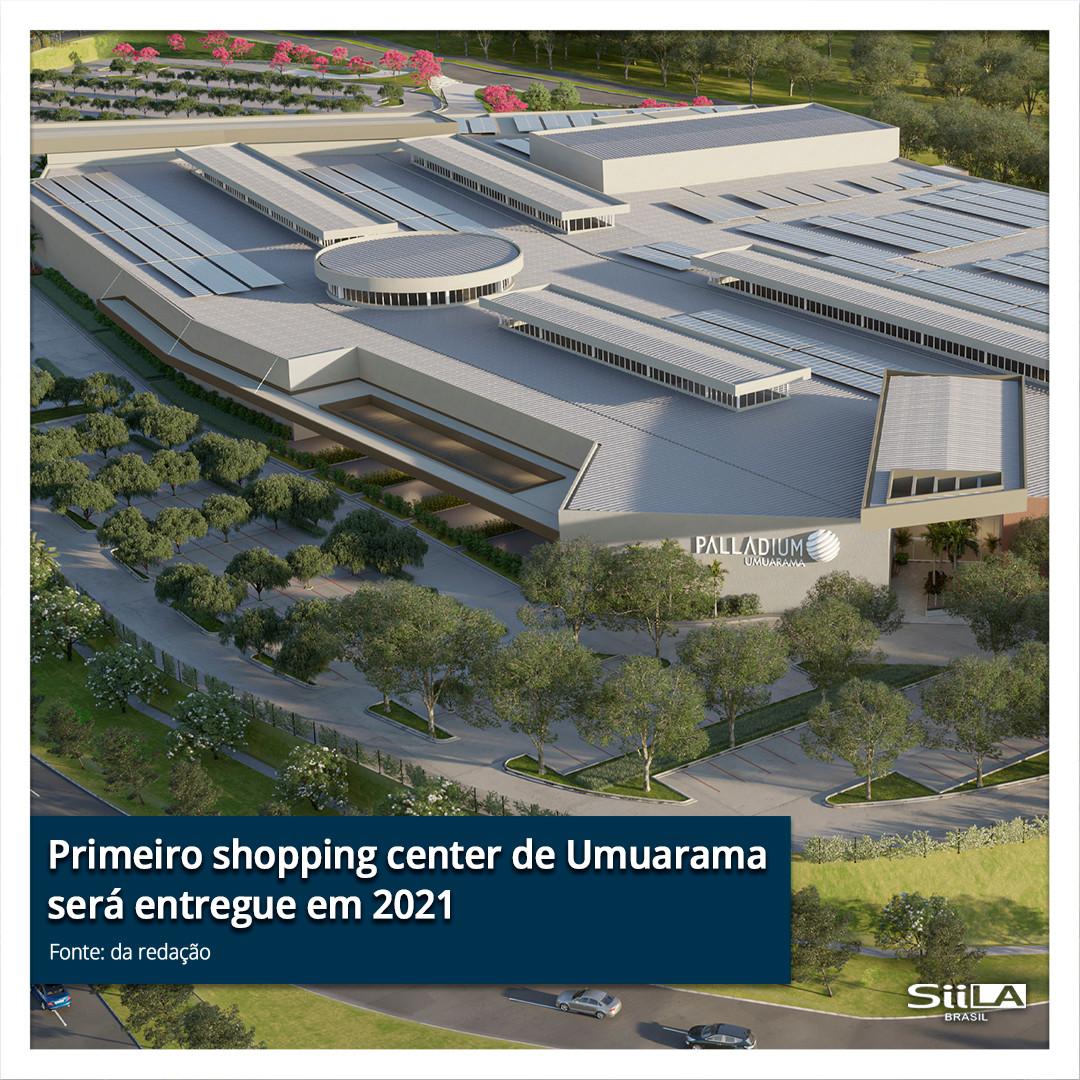 Primeiro shopping center de Umuarama ser