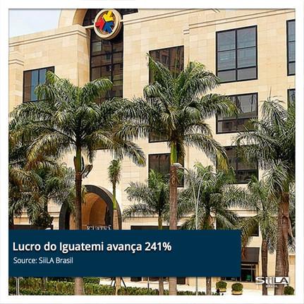 Lucro do Iguatemi avança 241% no 1º trim