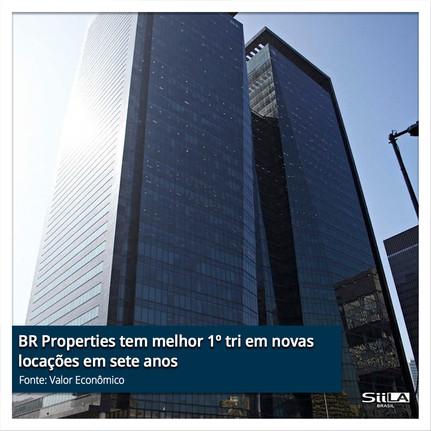BR Properties tem melhor 1º tri em novas