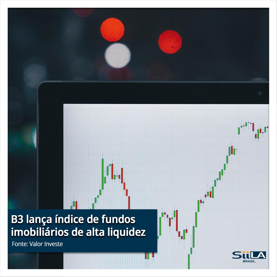 B3 lança índice de fundos imobiliários d