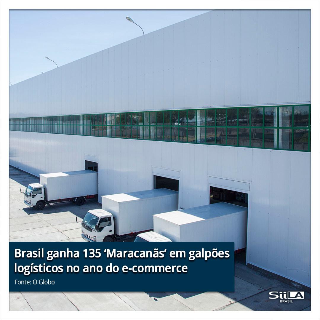 Brasil ganha 135 'Maracanãs' em galpões