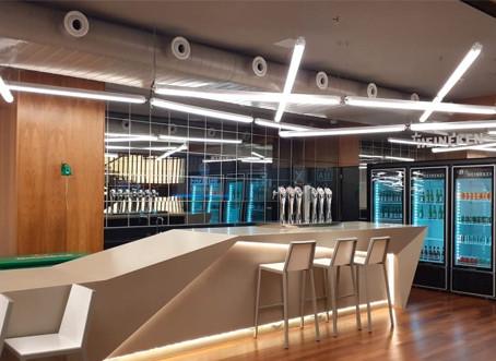 """Com home office definitivo, Heineken já prepara seu """"escritório do futuro"""""""