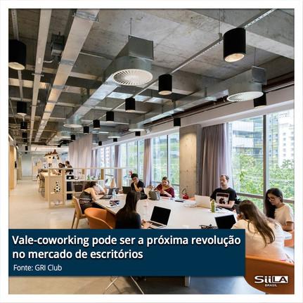 Vale-coworking pode ser a próxima revolu