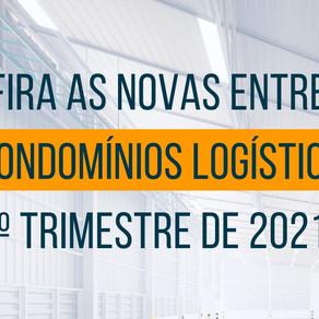 Novo estoque de condomínios logísticos é entregue com 80% de pré-locação no 2T21