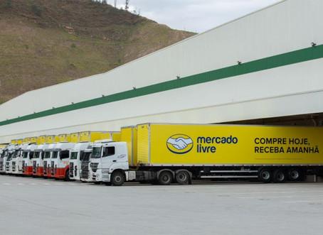 Mercado Livre prevê investimento de R$ 10 bi e abertura de novos centros de distribuição