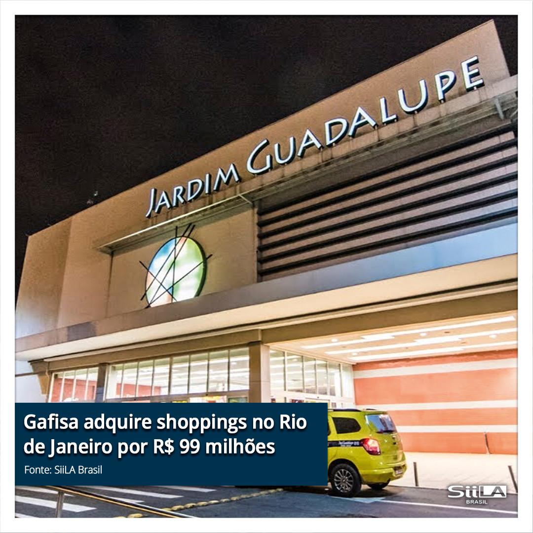 Gafisa adquire shoppings no Rio de Janei