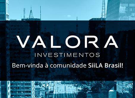 Nova Cliente SiiLA Brasil: VALORA INVESTIMENTOS