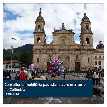Consultoria imobiliária paulistana abre escritório na Colômbia.jpg