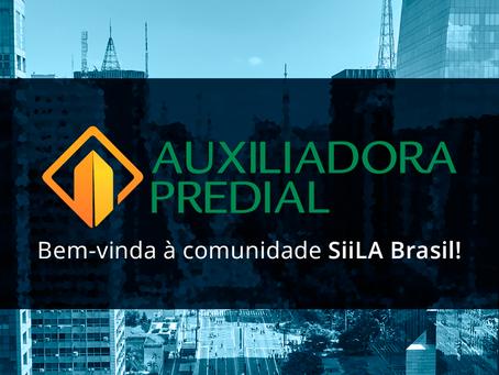 Nova Cliente SiiLA Brasil: Auxiliadora Predial