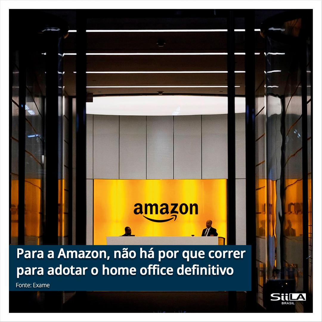 Para a Amazon, não há por que correr par