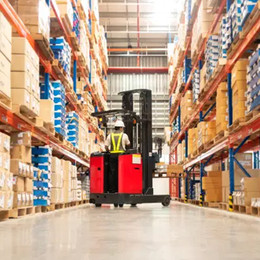 New warehouses total 1.1 million sq metres in the year and equal the number of 2020