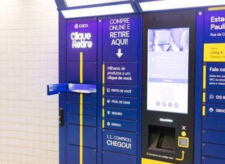 Passageiros podem retirar encomendas em 26 estações de metrô, em São Paulo