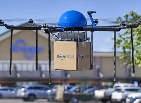 Nos EUA, rede de supermercados começa a testar delivery por drone