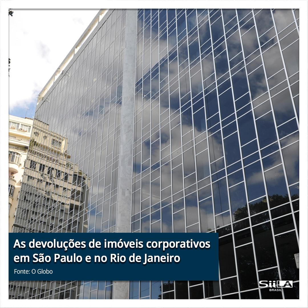 As devoluções de imóveis corporativos em