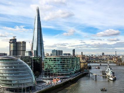 Retorno ao escritório aumenta no centro financeiro de Londres