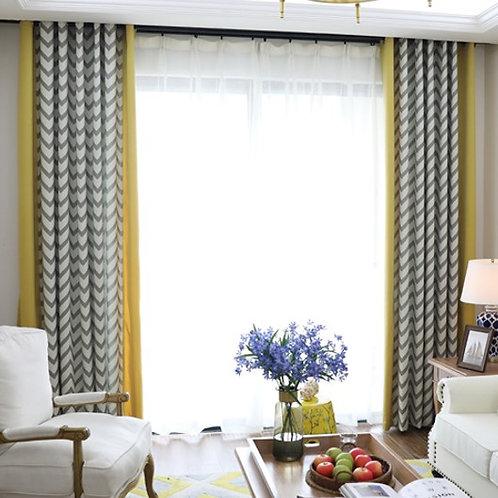 色織布簾 Yarn-dyed Curtain