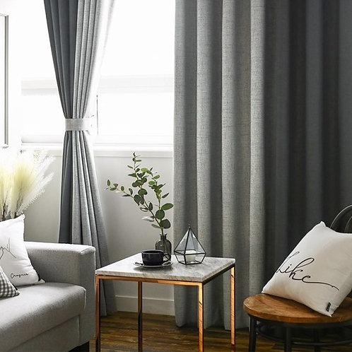 純色布簾 Single Color Curtain