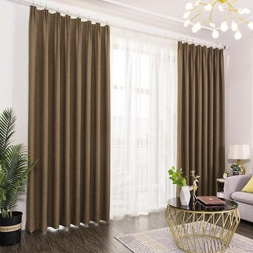 絨布簾 Flannel Curtain