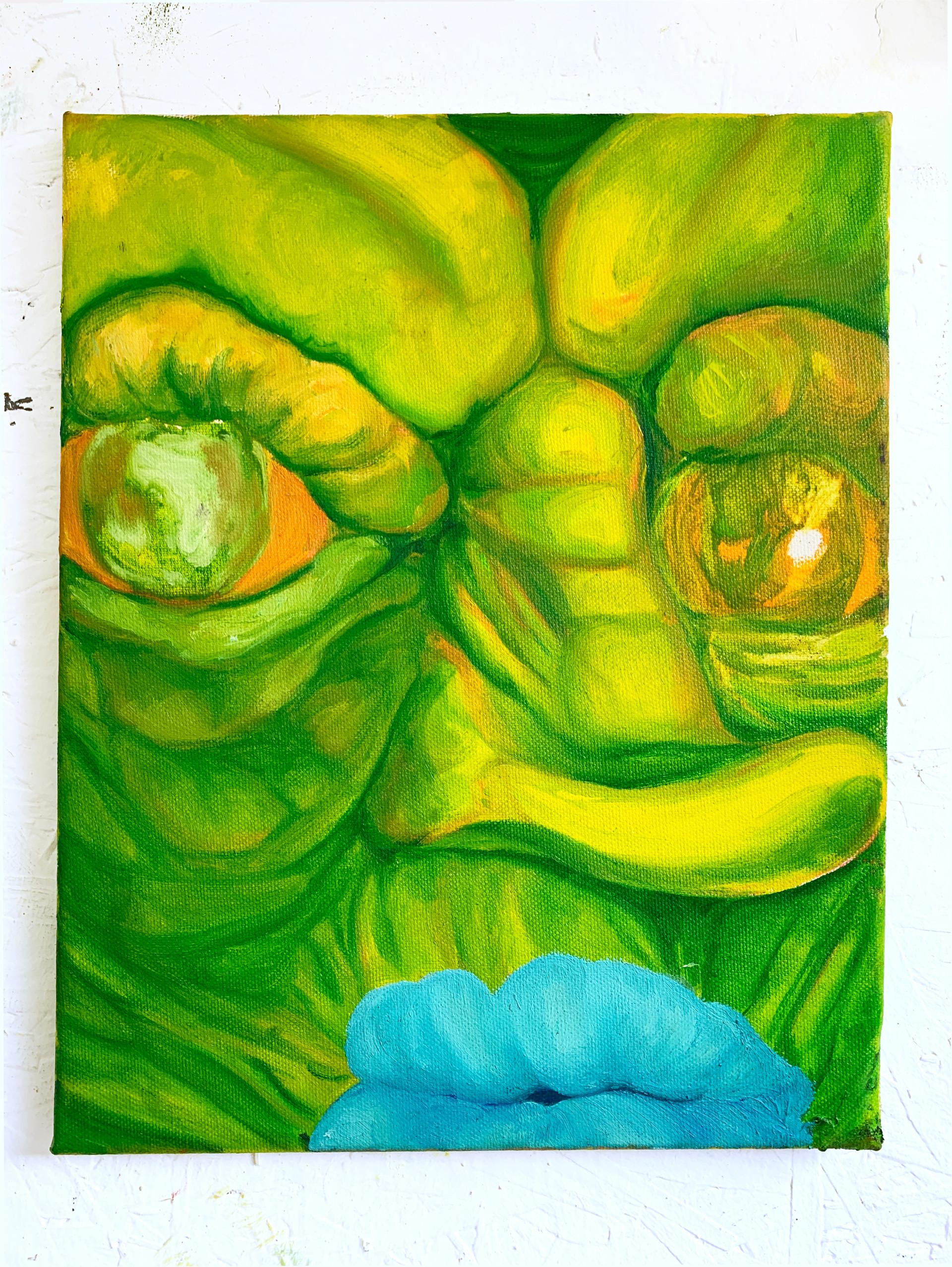 2020, 28x35cm, Oil, Canvas