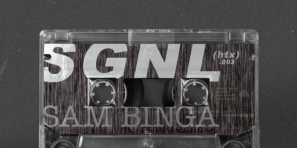 SGNL.003 \\ Sam Binga \\ 03.06.20 (Friday)