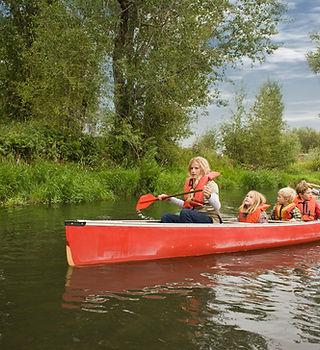 canoeing on Canadice Lake