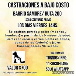 BARRIO SAMORÉ - MERLO $700