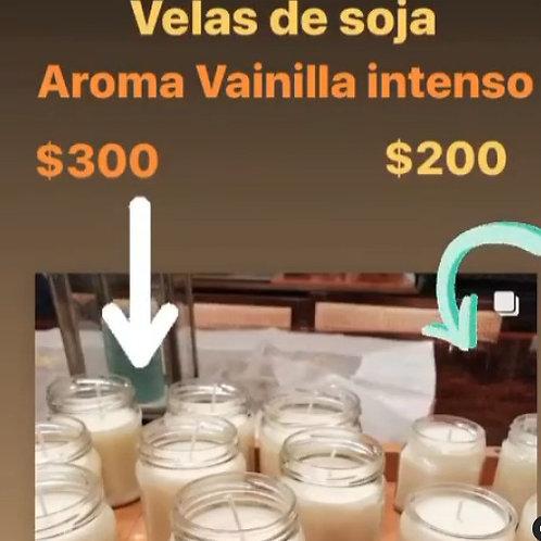 Velas aromáticas de cera de soja CHICA