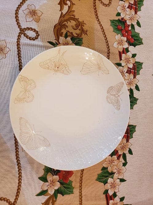 Platos pintados a mano de cerámica