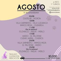 BUENOS AIRES CASTRACIONES A BAJO COSTO CON TRASLADO