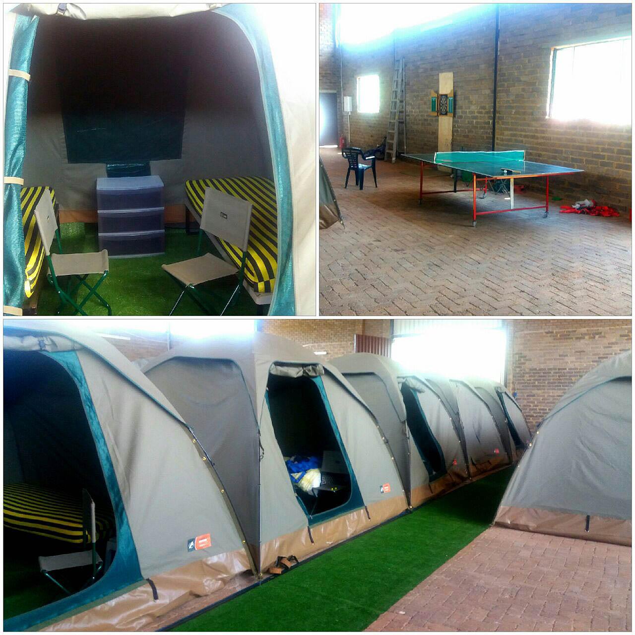 3x3m tents