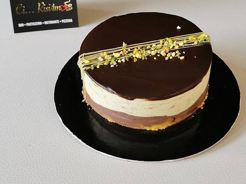 Semifreddo pistacchio e cioccolato ( ~0,400 kg)