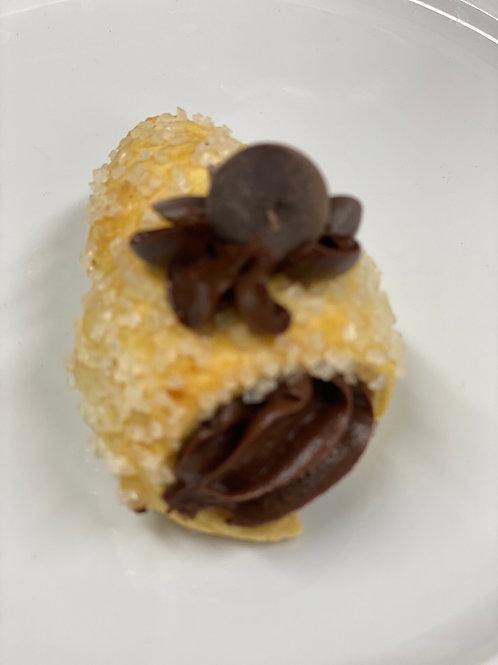 Cornocopia mignon con crema cioccolato