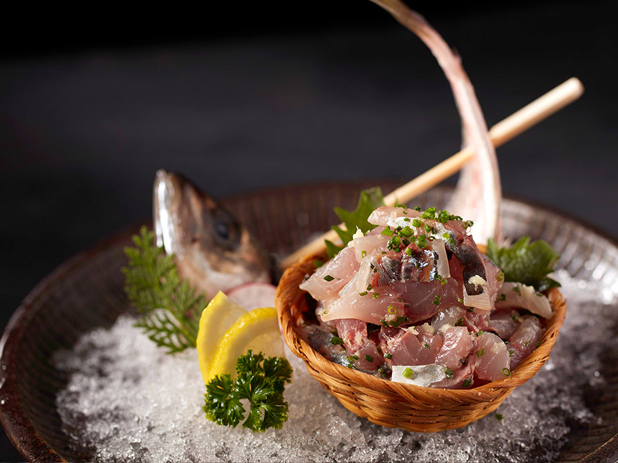 Aji ( horse mackerel )