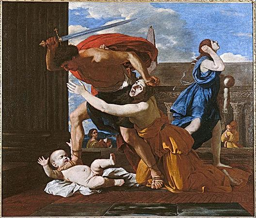 800px-Nicolas_Poussin_-_Le_massacre_des_
