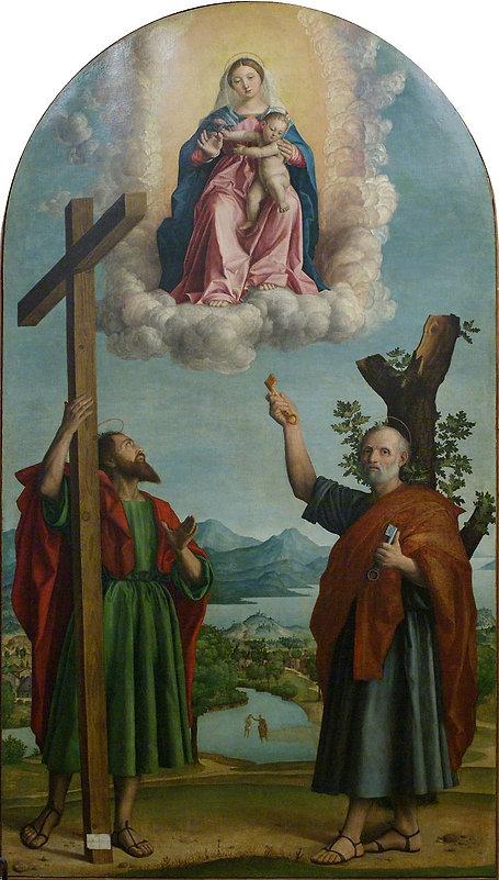 Girolamo_dai_Libri_-_Madonna_della_querc