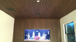 Cypress Wall and Ceiling
