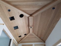 Oak T&G Ceiling